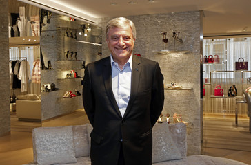 Christian Dior Chief Executive Sidney Toledano poses at the Dior store during the 69th Cannes Film Festival in Cannes