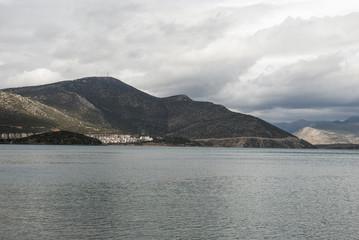 City of Egirdir on the lake of the same name, Turkey