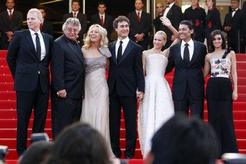 Director Liman arrives with cast members and former CIA operative Wilson at the 63rd Cannes Film Festival
