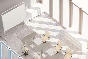 Light meeting room top