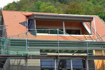 Neuaufbau einer Dachgaube