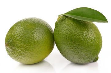 fresh ripe lime