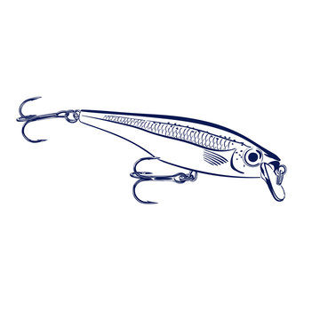 spinning lure wobblers