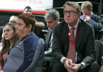 President of international think tank Policy Network, Peter Mandelson, attends the annual Labour Party Conference in Brighton