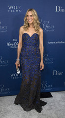 Actress Stewart poses at the 2014 Princess Grace Awards gala at the Beverly Wilshire Hotel in Beverly Hills