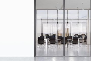 Ofice corridor, panoramic
