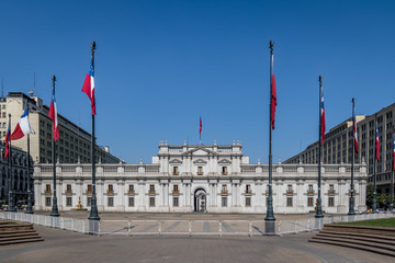 La Moneda Palace - Santiago, Chile