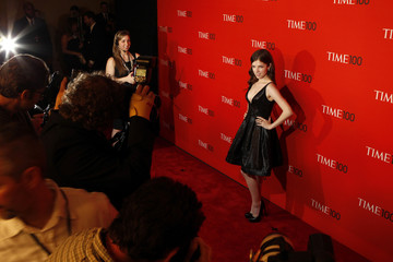 Actress Anna Kendrick arrives at the 2011 Time 100 Gala ceremony in New York