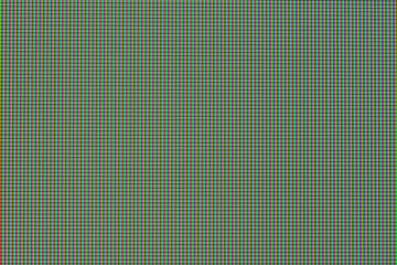 Macro of LED monitor screen RGB