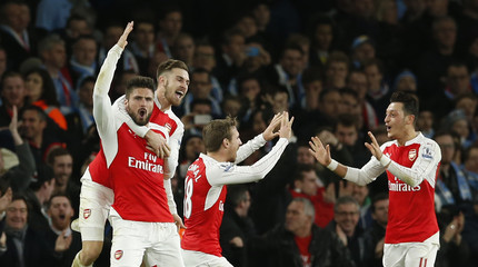 Arsenal v Manchester City - Barclays Premier League