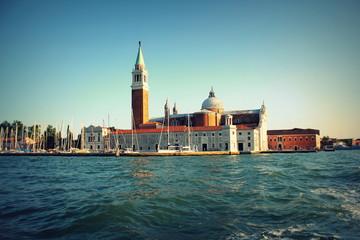 The church and monastery at San Giorgio Maggiore in the lagoon of Venice