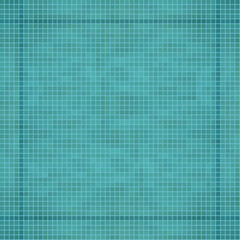 Abstract seamless pattern of pixels. Texture applications, water, tiles in the pool . Vector illustration.