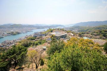 千光寺公園からの風景