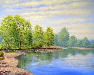 Oil paintings landscape