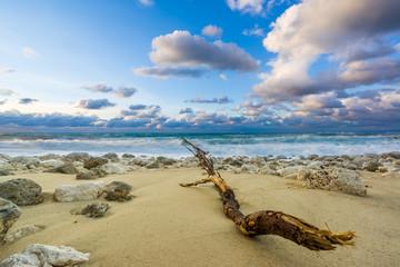 Pefkoulia beach in Lefkada Greece