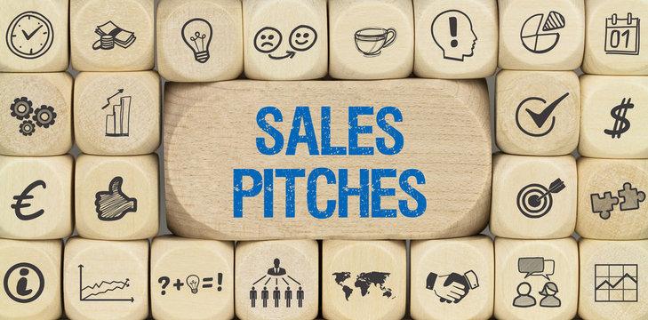 Sales Pitches / Würfel mit Symbole