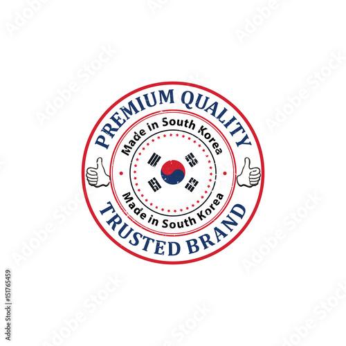 Made in South Korea, Premium Quality (English and Korean
