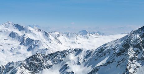 Austrian Alps in Winter, Austria