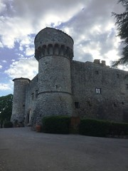 Castello di Meleto (Toscana, Italy)