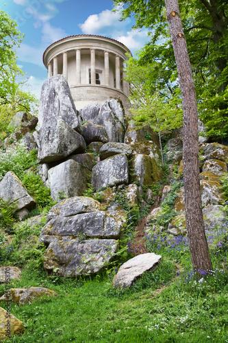 clisson temple de vesta dans le jardin de la garenne lemot loire atlantique pays de loire. Black Bedroom Furniture Sets. Home Design Ideas
