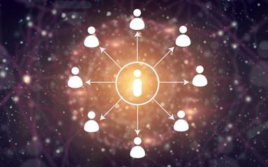 scheme of social network information