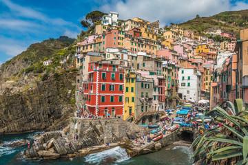 Fototapeta Riomaggiore in Cinque Terre Italy
