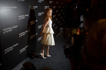 Actress Jessica Chastain arrives for the National Board of Review gala in the Manhattan borough of New York