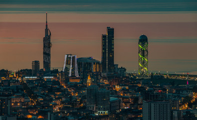 Batumi at Sunset I
