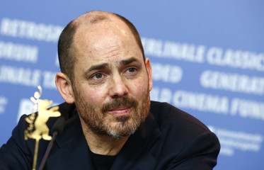 "Director Berger attends a press conference to promote the movie ""Jack"" during the 64th Berlinale International Film Festival in Berlin"