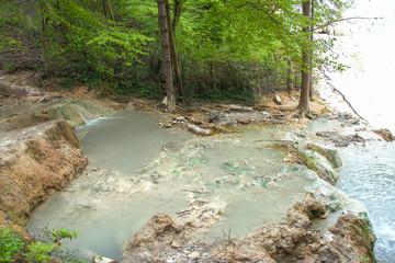 Spring of thermal water of Bagni san filippo
