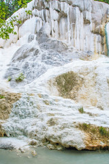 Spring of thermal water of Bagni san filippo