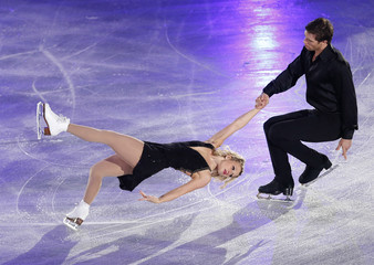 Moscovitch and Moore-Towers of Canada perform during the gala exhibition at ISU Grand Prix of Figure Skating's NHK Trophy event in Sendai