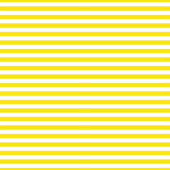 Horizontal yellow stripes on a white background. Trendy pattern with a marine theme. Geometric background. Seamless vector illustration for web banners, print on fabric, paper. Modern ornament sailor