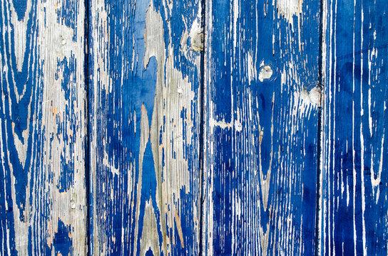 Holzstruktur Blau