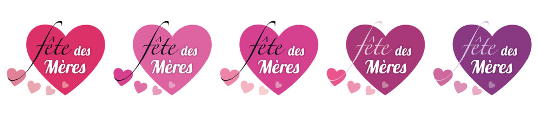 FÊTE DES MÈRES COEUR