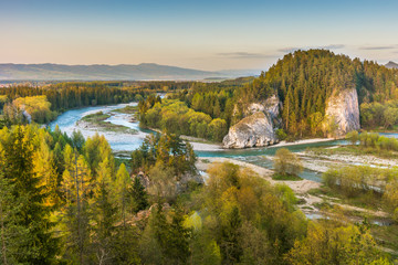 Obraz Beautiful river landscape - fototapety do salonu
