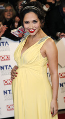 Presenter Myleene Klaas attends the National Television Awards at the O2 Arena in London