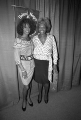 File photo of Whitney Houston with her mother Cissy Houston in New York