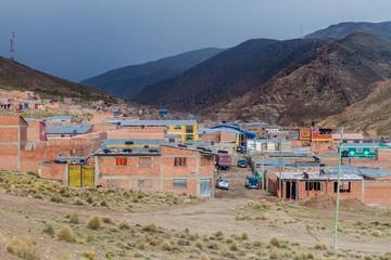 Agua de Castilla village near Potosi, Bolivia