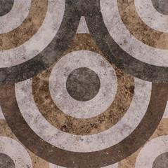 Wall Mural - Mosaic tile, abstract pattern
