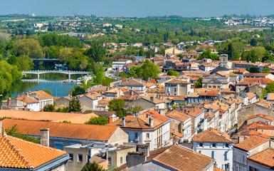 Cityscape of Angouleme, France