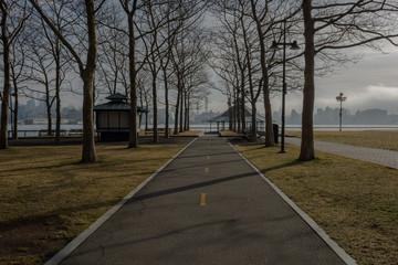 Pier A Public Park in Hoboken, New Jersey