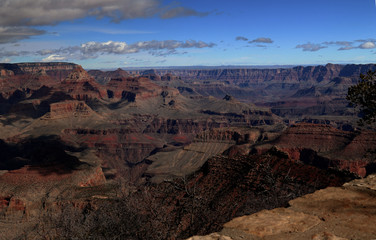 View of the Grand Canyon to the northwest from Yaki Point