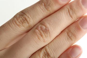 Male hand, closeup