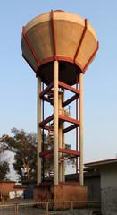 Wasserturm in der indischen Provinz Punjab