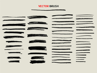 dry chalk texture brush set