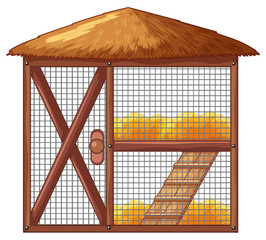 Chicken coop with no chicken
