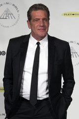 Musician Frey poses for pictures during 29th annual Rock and Roll Hall of Fame Induction Ceremony in Brooklyn, New York