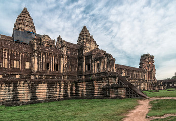 Ancient Angkor Wat Temple in Siem Reap, Cambodia
