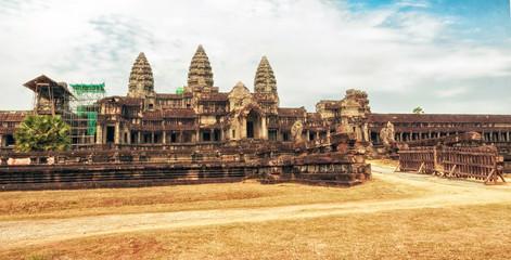 Angkor Wat complex in Siem Reap, Cambodia